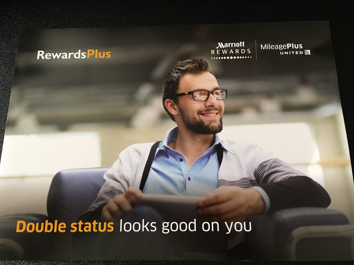 United Airlines MileagePlus and Marriott Rewards Double Status (Page 1)