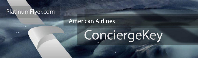 Platinum Flyer - American Airlines ConciergeKey Banner